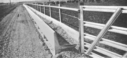 Livestock Feed Bunks Johnson Concrete Products